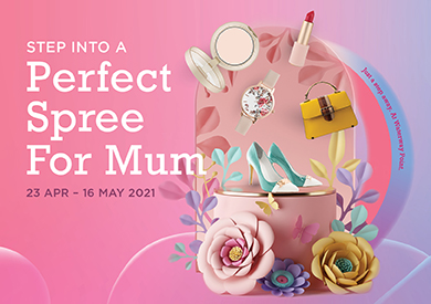 Perfect Celebration For Mum, Just A Step Away