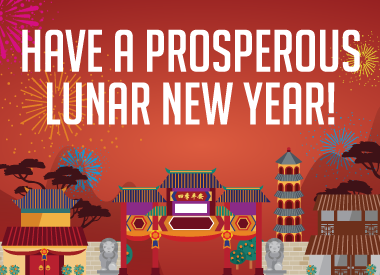 Wishing You A Prosperous Lunar New Year