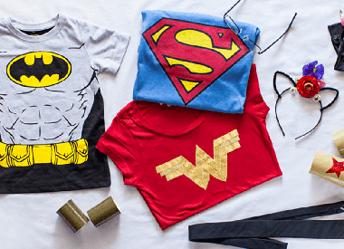 DIY Superhero Costumes for Halloween