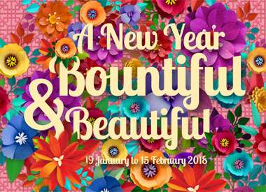 A New Year Bountiful & Beautiful at the malls of Frasers Property