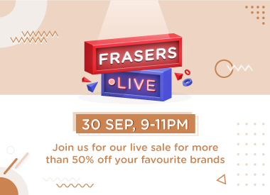 Frasers Property Retail's First-Ever Facebook Live Shopping Event