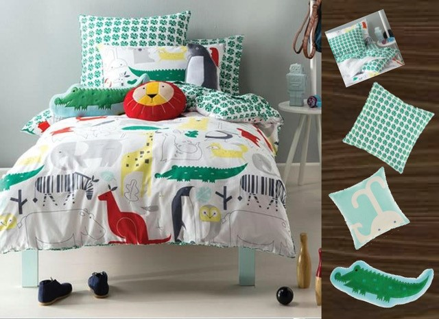 Hiccups Super Single Quilt Cover Set