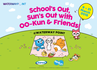 School's Out, Sun's Out with OO-Kun & Friends at Waterway Point!