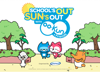School's Out, Sun's Out with OO-Kun & Friends!