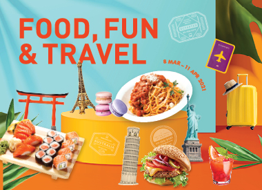 Explore the World through Food!