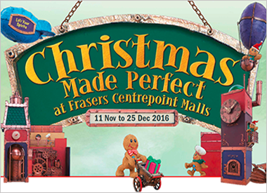 Have a Perfect Christmas at Frasers Centrepoint Malls