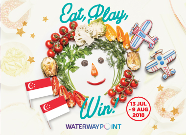 Eat, Play, Win at Waterway Point
