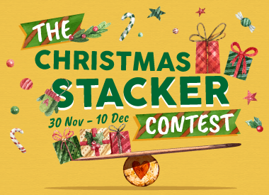 The Christmas Stacker Facebook Contest