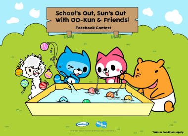 """School's Out, Sun's Out With OO-Kun & Friends"" Facebook Contest"